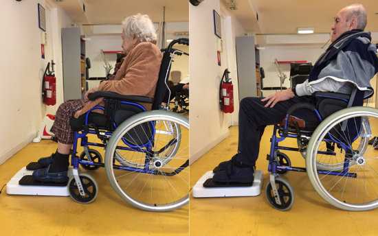 Simulateur de marche assis pour vos patients, HappyLegs